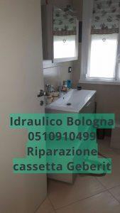 Sostituzione guarnizione galleggiante Geberit Bologna