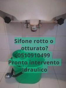 lavabo intasato Bologna