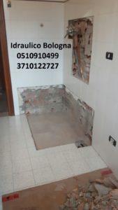 preventivo ristrutturazione integrale del bagno Bologna